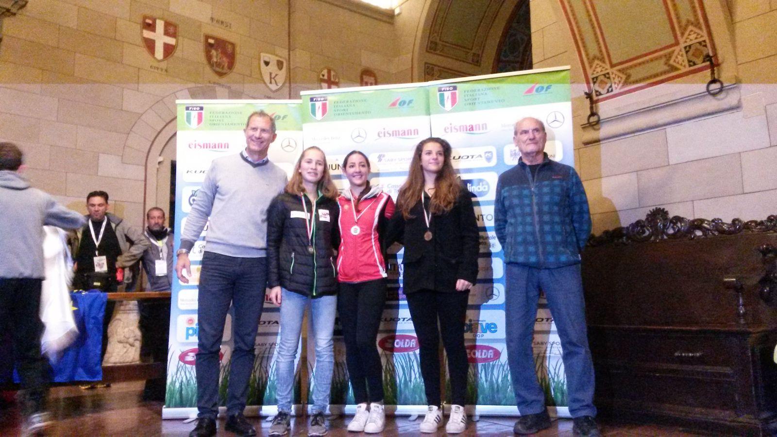 PODIO CLASSIFICA FINALE COPPA ITALIA, ALICE 2���°